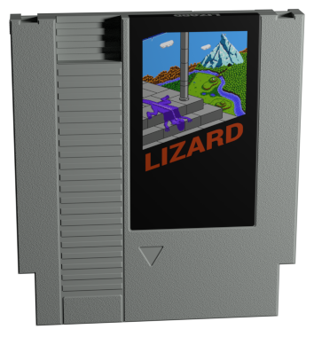 Lizard NES Cartridge